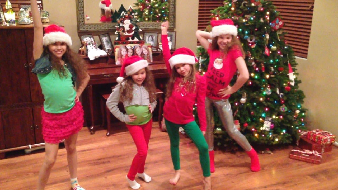 haschak sisters zendaya   shake santa shake