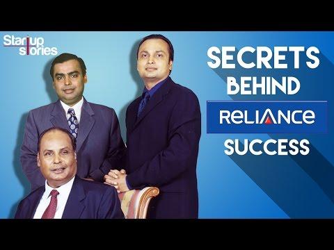 Secrets Behind Reliance Success | Dhirubhai Ambani | Mukesh Ambani | Anil Ambani | Startup Stories