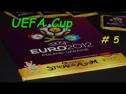 Panini sticker Album New  stickerunboxing UEFA Euro 2012 Lucky Bag