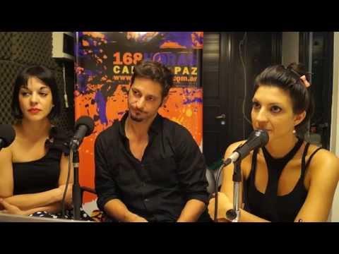 Dolly Kent, Nicolas Armengol, y Giselle Dufour, de Family en 168 Horas Radio - Parte uno