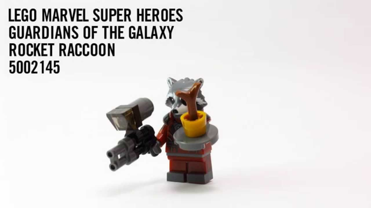 Build Rocket Raccoon Marvel Heroes