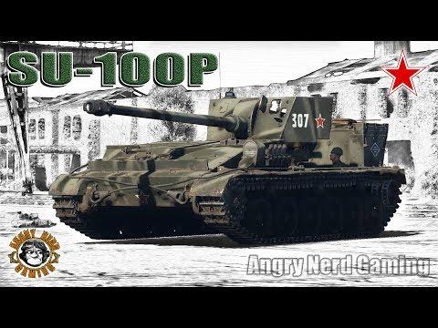 War Thunder: SU-100P, Soviet, Tier-4, Tank Destroyer