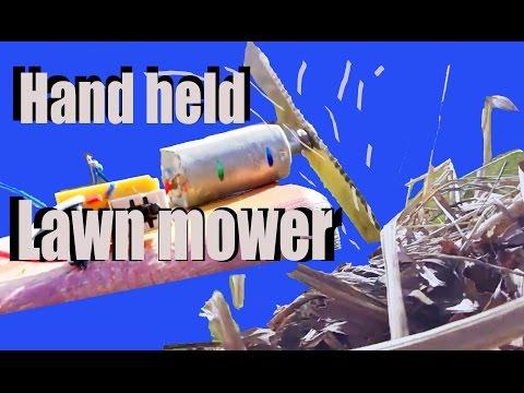 DIY hand-held Lawn mower