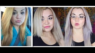 How To Fix Orange Hair (Wella T18 Toner VS Purple Shampoo)