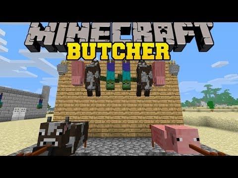 скачать мод butcher на майнкрафт 1.6.4