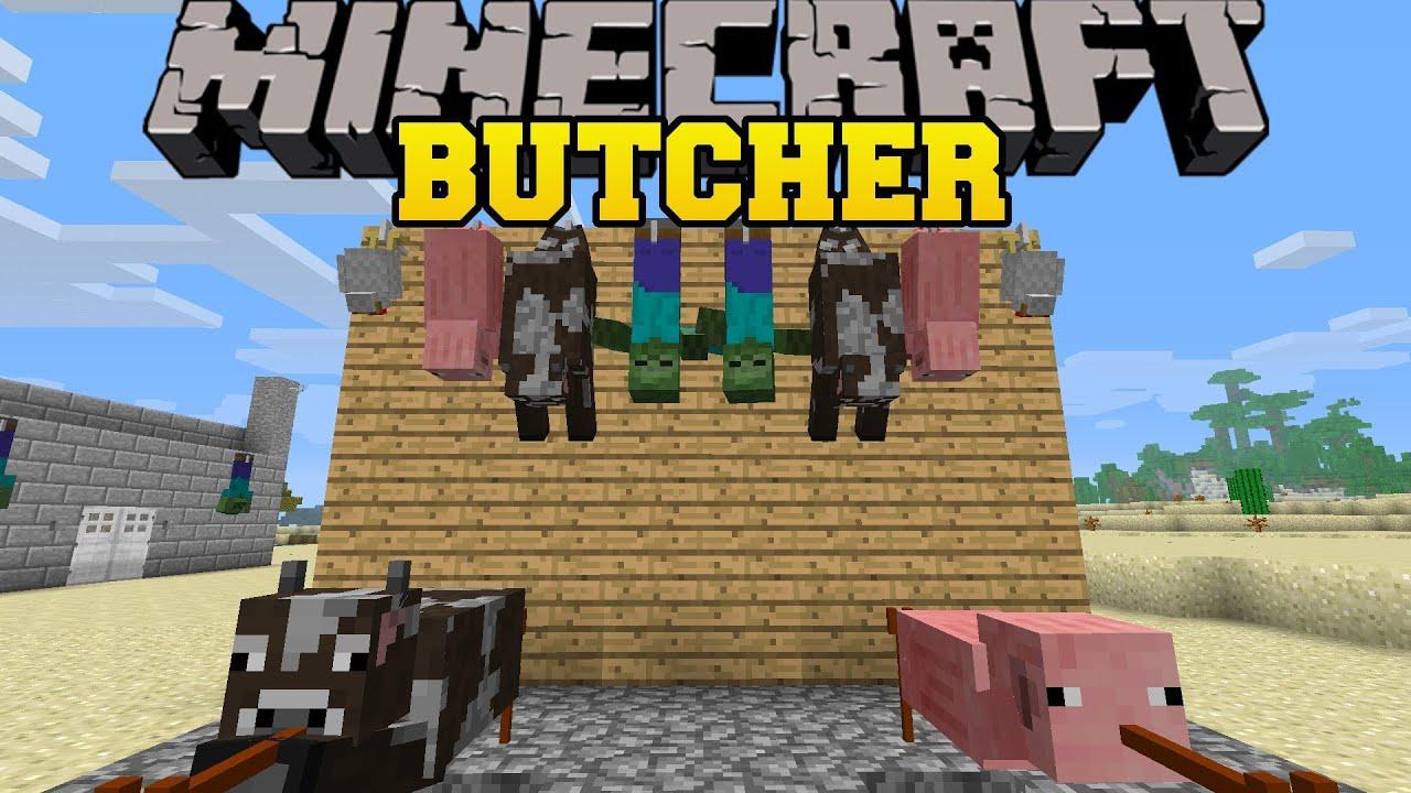 скачать моды на майнкрафт 1.7.10 на butcher mod