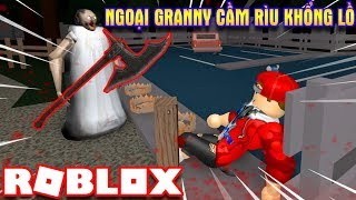 ROBLOX | Foreign Granny Take His Axe on the other Ass Laugh Intestine | Granny | Vamy Tran