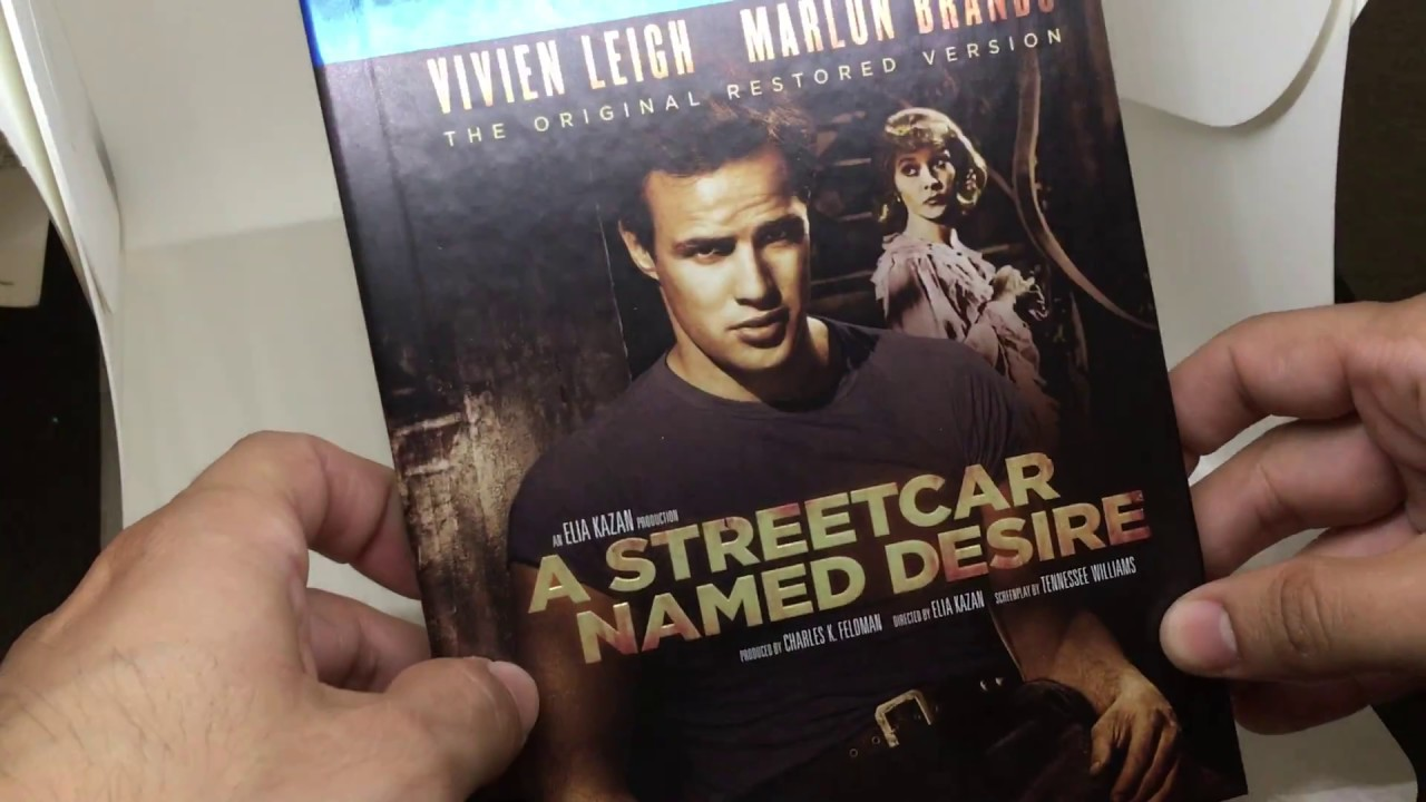 Download A STREET CAR NAMED DESIRE [U.S.] EXCLUSIVE BLU RAY DIGIBOOK: REVIEW