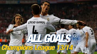 Every Champions League goal 2013/14 | La Décima, Ramos in the 93rd minute & 17 Cristiano strikes!