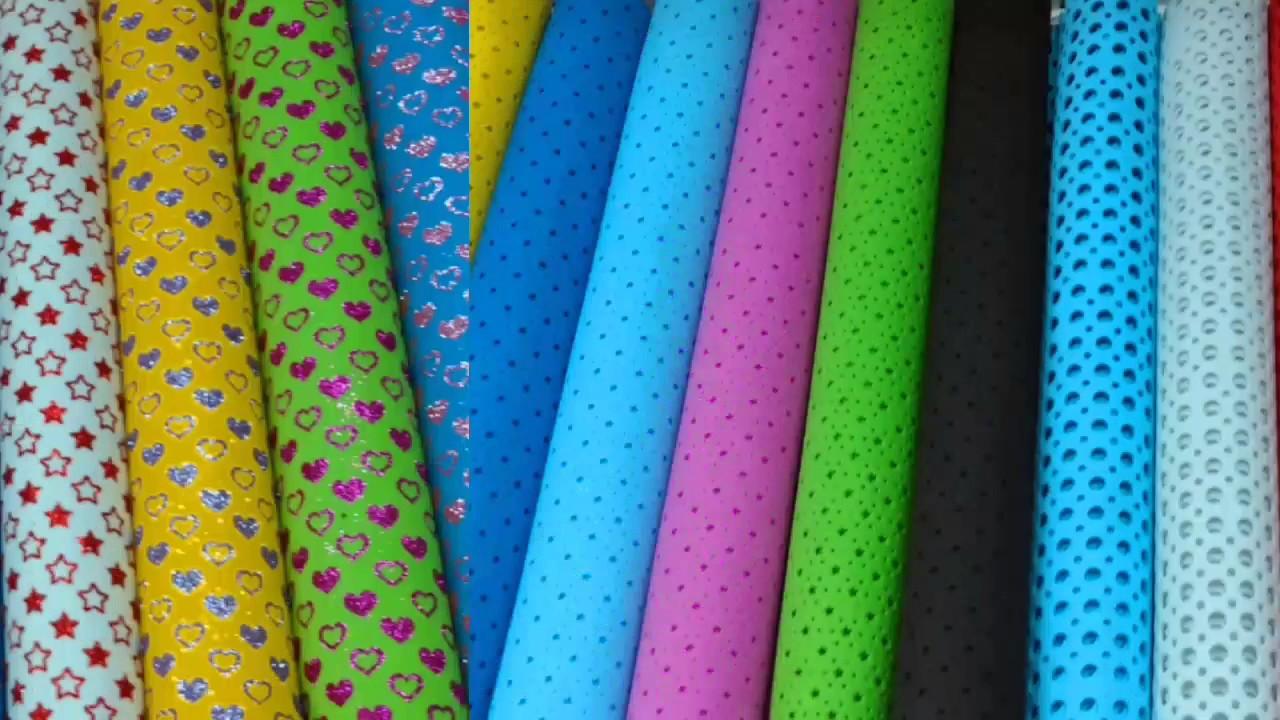 23274edcf1e Goma Eva Calada Goma Eva con Glitter y Formas GomaEva 3D Foamy con Brillo y  lisa Distribución Exclus