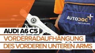 Montage AUDI A6 Avant (4B5, C5) Lambda Sensor: kostenloses Video