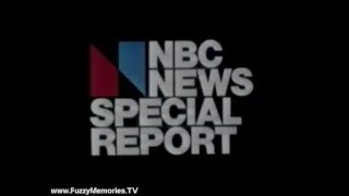 "WMAQ Channel 5 - The NBC News Midnight Special Report - ""Death of Rockefeller"" (1979)"