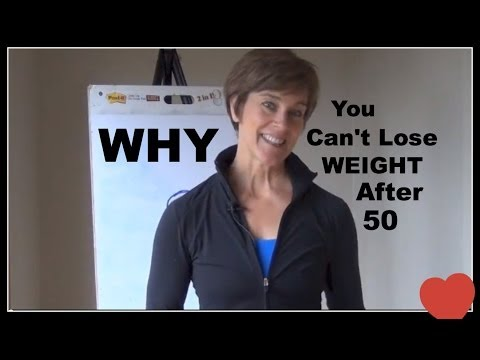 Real Reasons Why You Can't Lose Weight After 50