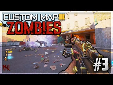 PAIN AU CHOCOLAT OU CHOCOLATINE ? CUSTOM MAP ZOMBIES #3