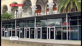 Мэр высказался о занятой павильонами площади ж/д вокзала Сочи