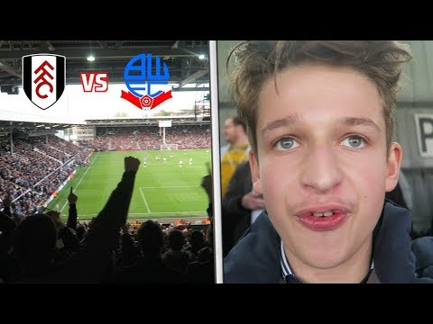 FULHAM vs BOLTON VLOG! *WHY COULDN'T WE JUST HOLD ON*