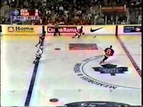 Reid Simpson goals last game Maple Leaf Gardens