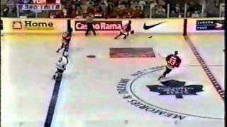 Reid Simpson goals last game Maple Leaf Gardens