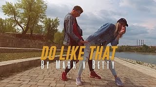 "Korede Bello ""DO LIKE THAT"" Dance Video by Mark Szakacs x Bettina Nagy"