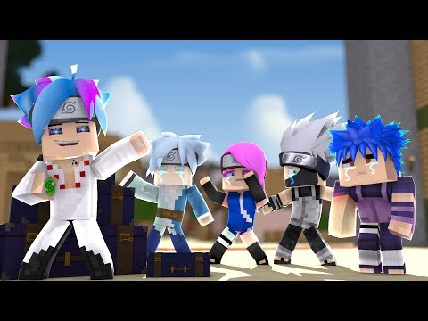 Minecraft : SARUTO - ADEUS SARUTO! A DESPEDIDA #181