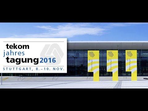 tekom-Jahrestagung 2016 in Stuttgart