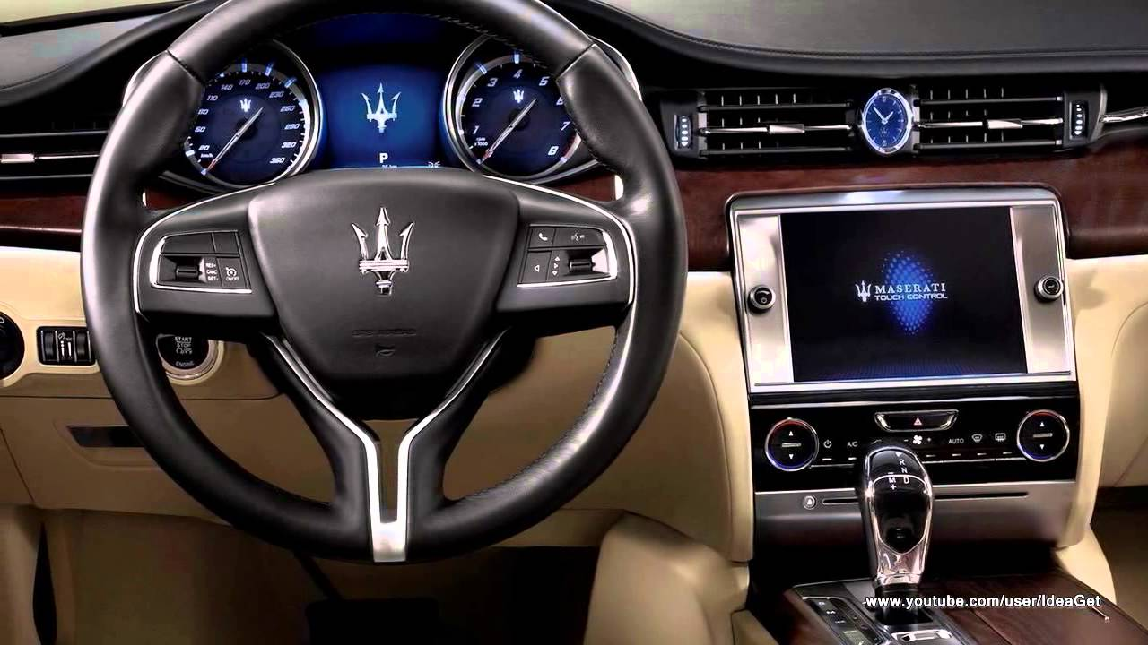 2013 new maserati quattroporte interiors and exteriors