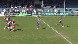 Paulo Odogwu Try vs. Plymouth Albion