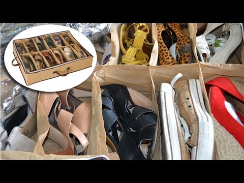 Curso Como Organizar Sua Casa - Lugar de Sapato