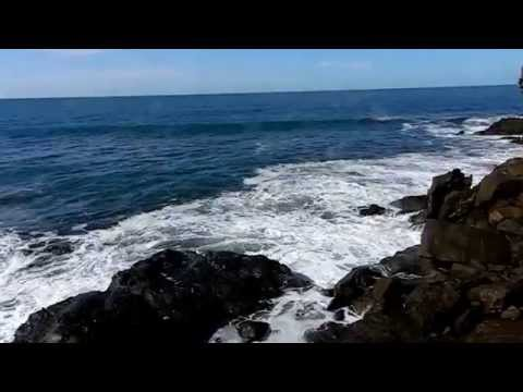 Xanadu Beach, El Salvador, Relax waves sound  2 hours