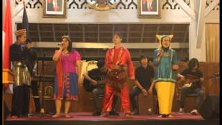 KSP Unpad - Vocal Group - Medley lagu daerah - Perform at The Landformation 2015