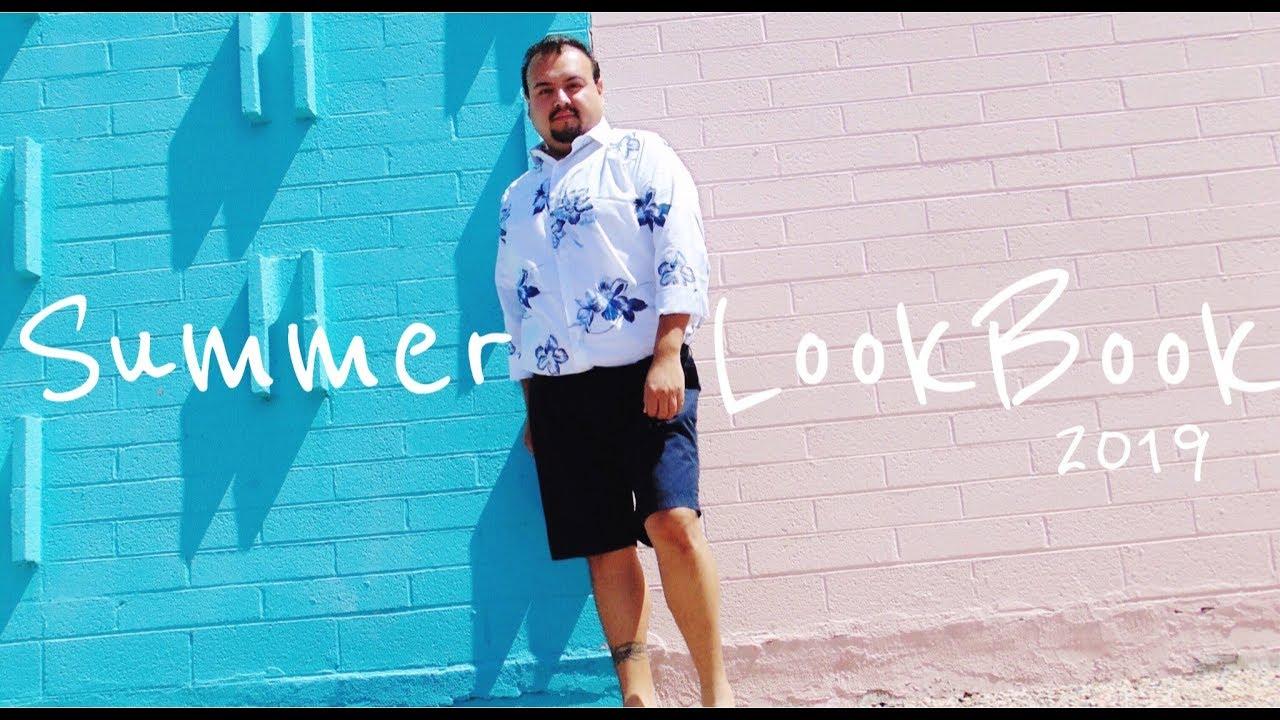 551850379a4e SUMMER LOOK BOOK 2019 | MEN'S PLUS SIZE | TONYDELAROCHA - YouTube