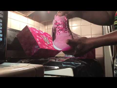 "Camron Reebok VentiLator Supreme( Fleebok 2)Dipset""Pink suede/Camo(Unbox/on feet)Rated R Cursewords"