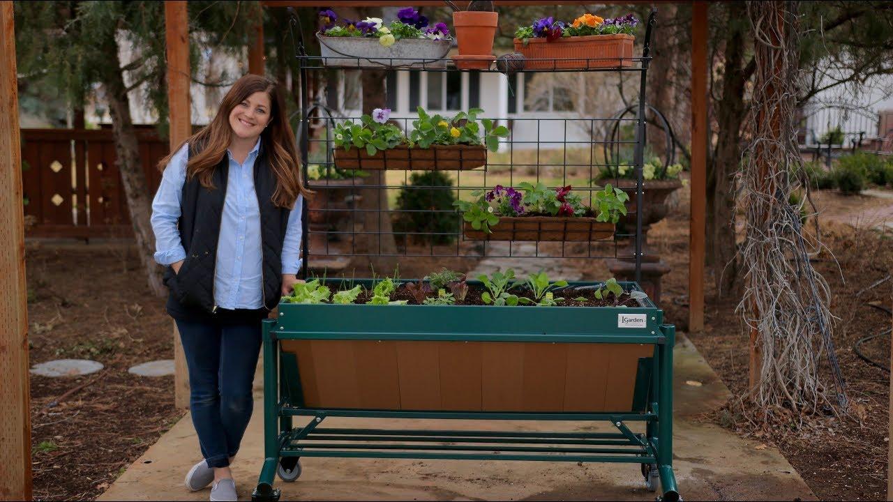 LGarden Original Raised Bed Planter + Giveaway! 😃🌿// Garden Answer ...
