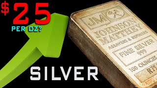 Silver COULD Reach $25 By November....BUT