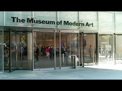New York Landmarks:  Museum of Modern Art - MoMA