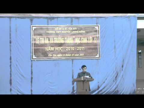 Bài phát biểu khai mạc tri ân_k9a1-thptnguyenluongbang.info