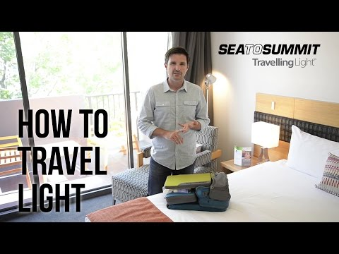 Travelling Light with Sea to Summit