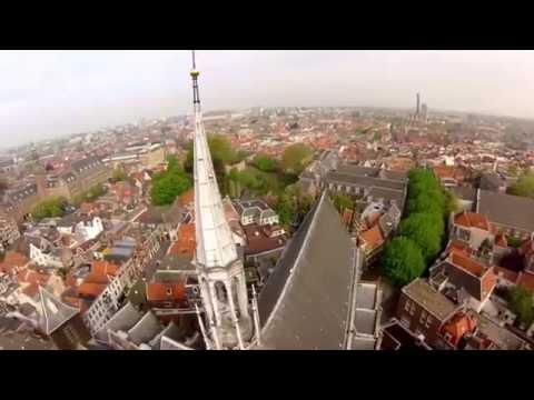 Leiden Nederland Compilation DJI Phantom FPV