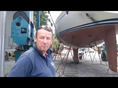 Part 7: Getting a CopperCoat Antifoul and Servicing (Video 64) - Sailing Britican