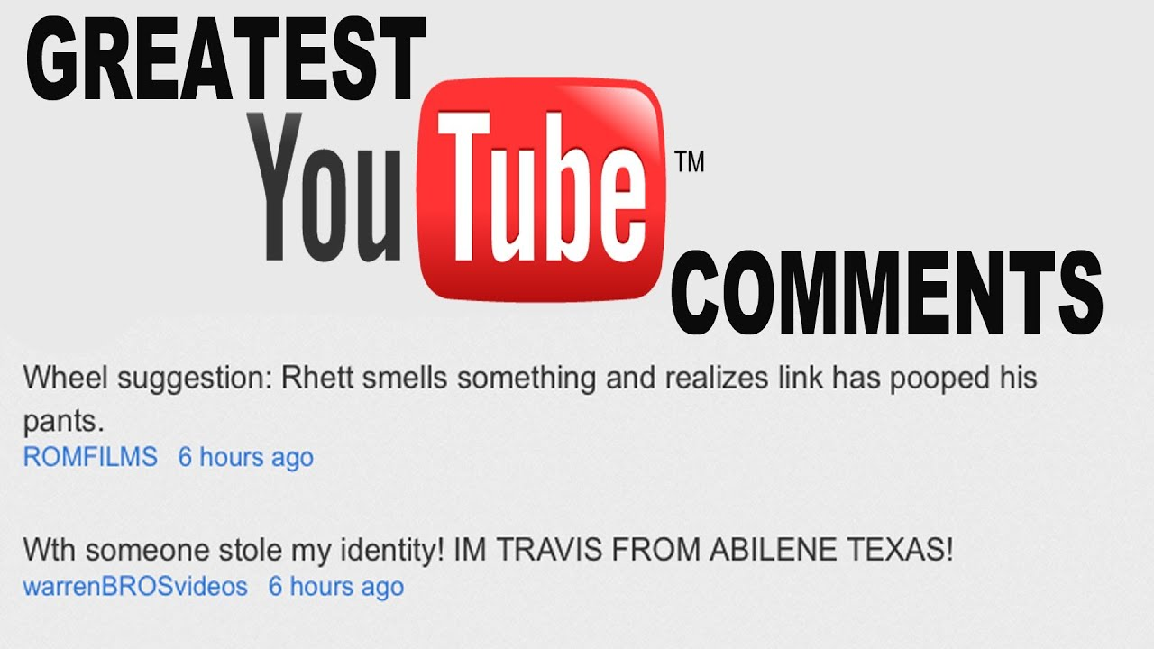Best youtube comments ever gmm 200 youtube for Best image comments
