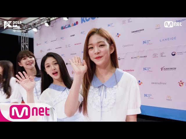 [KCON 2018 LA] HI-TOUCH with #fromis_9