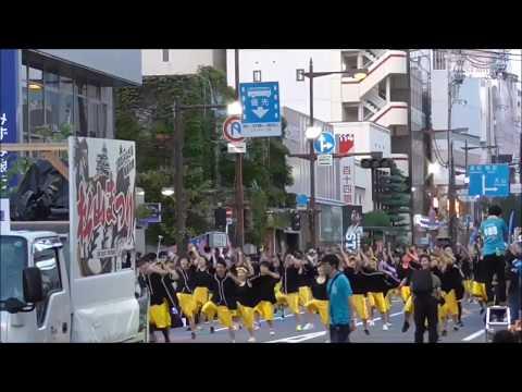 松山まつり2017 野球拳踊り 聖カタリナ学園連