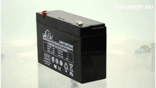 Leoch DJW 6-12 - видео обзор AGM аккумулятора