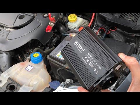 UNBOXING   Inverter per auto da 12v a 220v