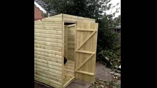 How To Build A Pent Shed