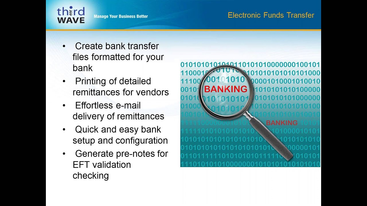 electronic fund transfers Electronic fund transfers your rights and responsibilities indicated below are types of electronic fund transfers we are capable of handling, some of which may not.