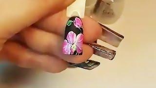 Юлия Билей - Скоростная орхидея / Julia Biley - Quickly and simply draw orchid Periscope