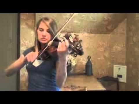عزف اغنية فلم تايتانك على الكمان