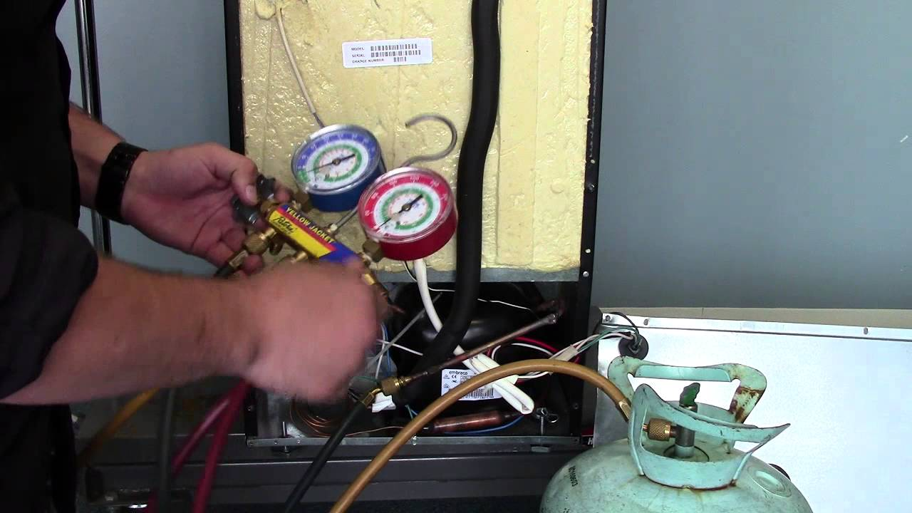uline wine cooler repair reharging a uline wine cooler with 134a freon - Uline Wine Cooler