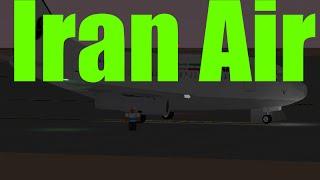 Roblox-Iran Luft || Boeing 737-200Flug